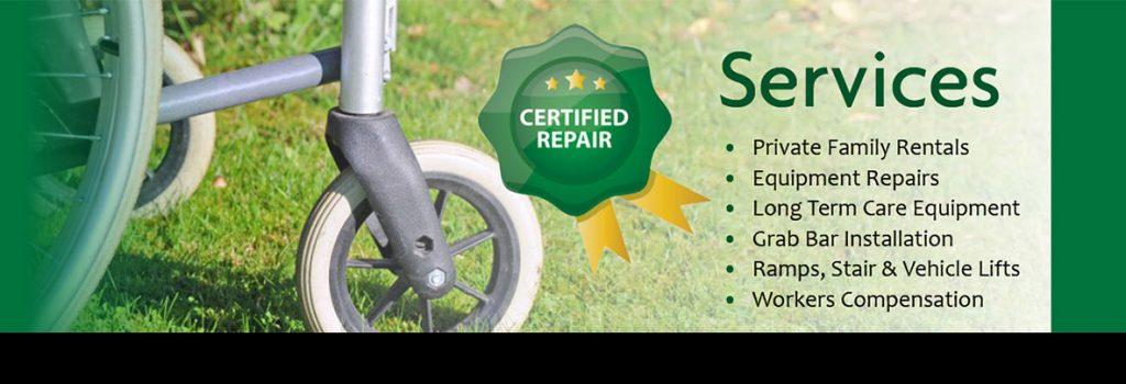 certified repair services