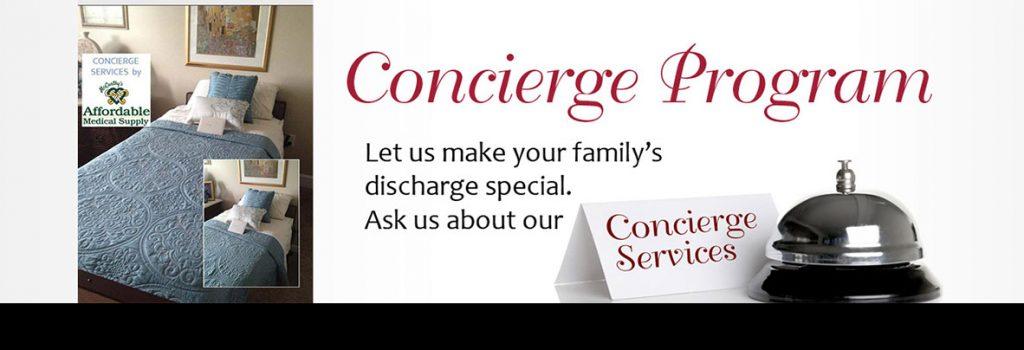 affordable medical supply concierge program
