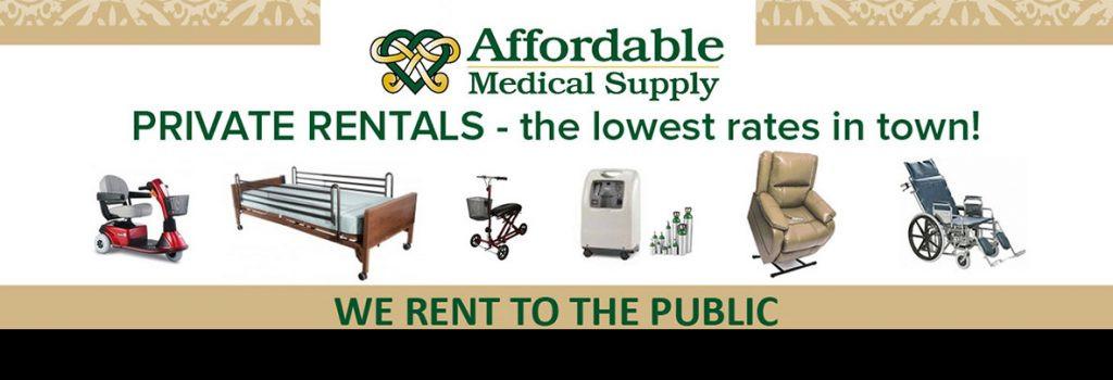 medical supply rentals