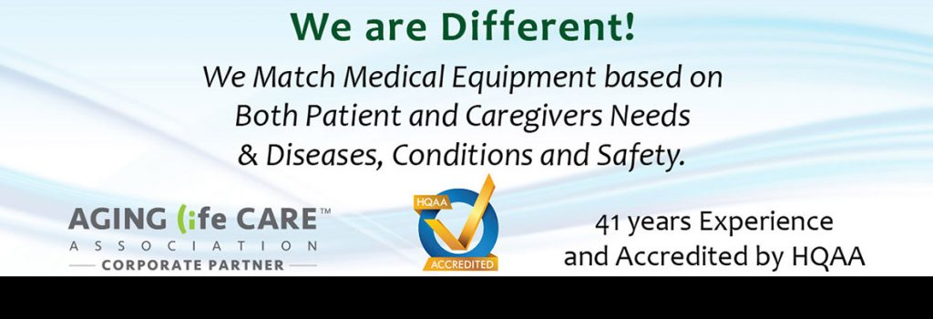 medical equipment based on needs