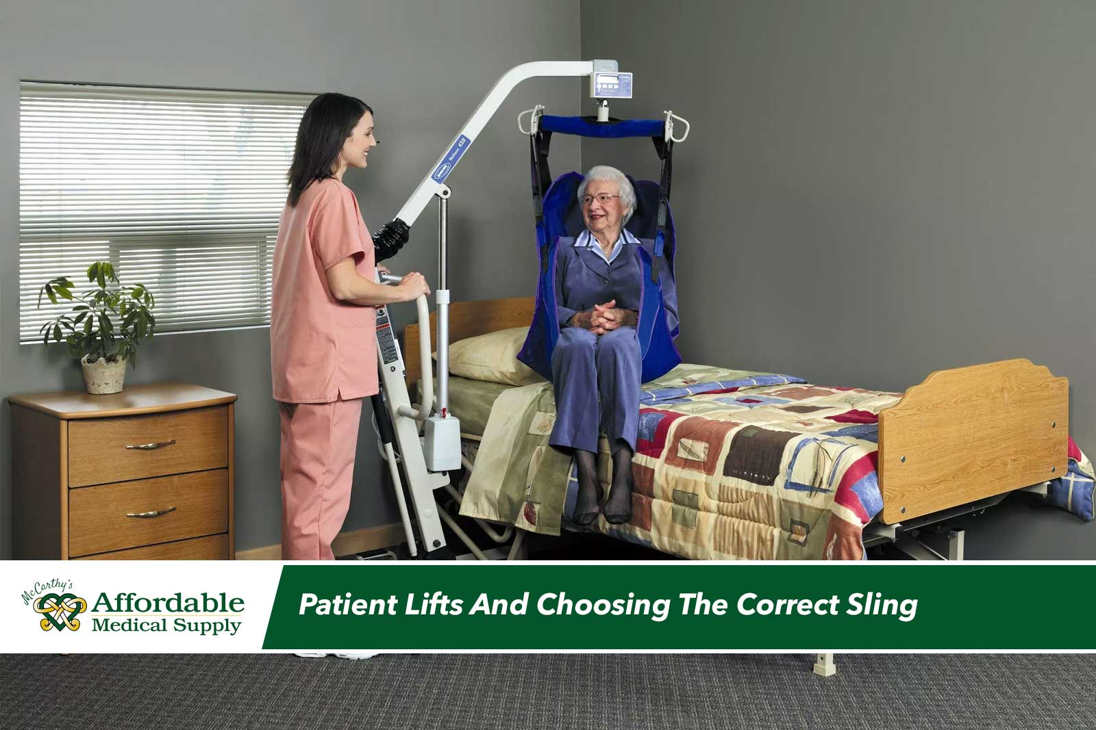 How To Determine the Correct Sling for Patient Lifts